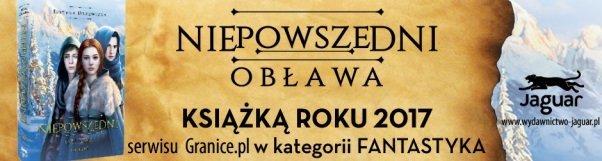 Niepowszedni. Obława - książka roku 2017 w kategorii fantastyka