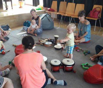 Tańczące Nutki - zajęcia umuzykalniające dla dzieci