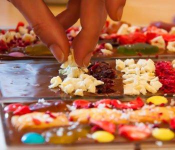 Stwórz wymarzoną tabliczkę czekolady