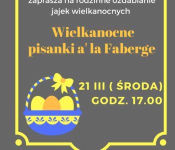 Wielkanocne pisanki a'la faberge