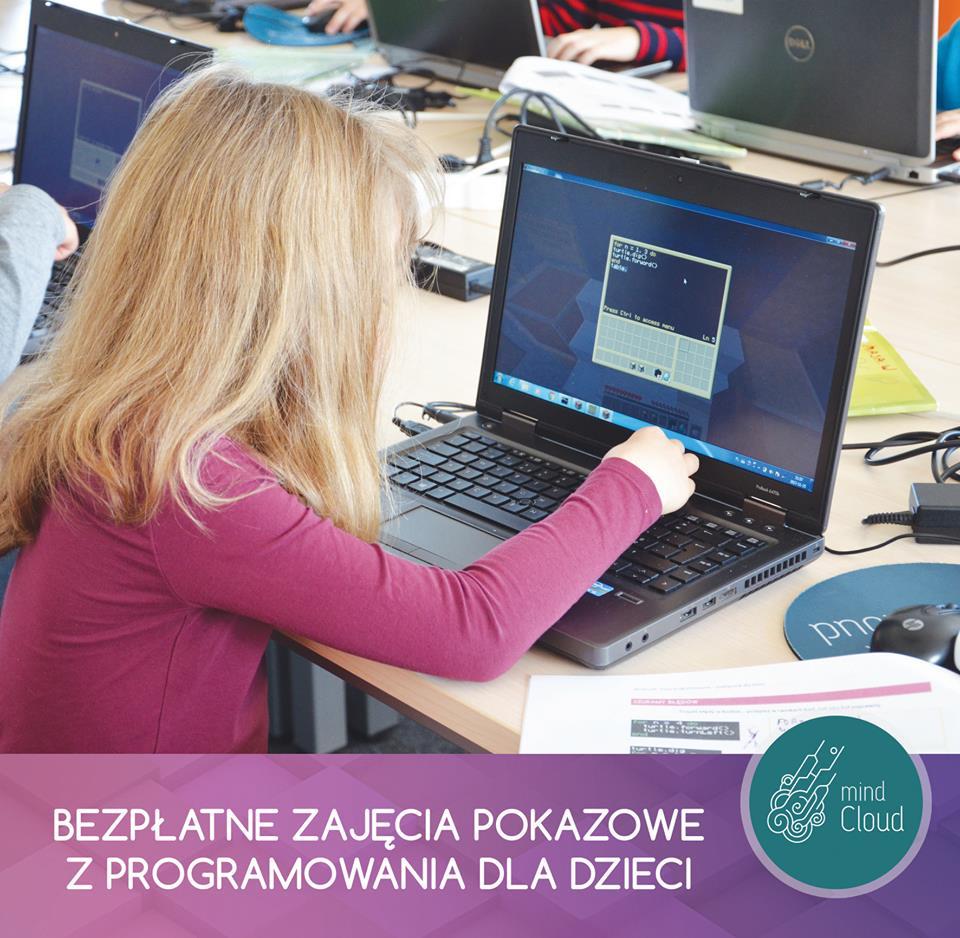 Programowanie - bezpłatne zajęcia pokazowe dla dzieci