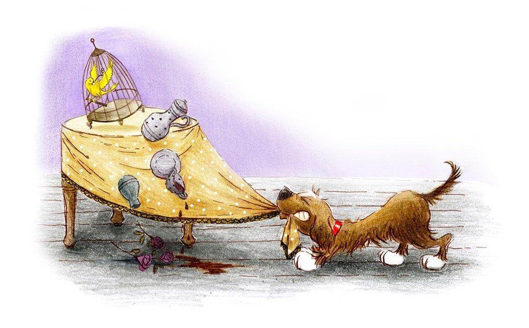 Przygody psa Syfona, bajka do czytania na dobranoc