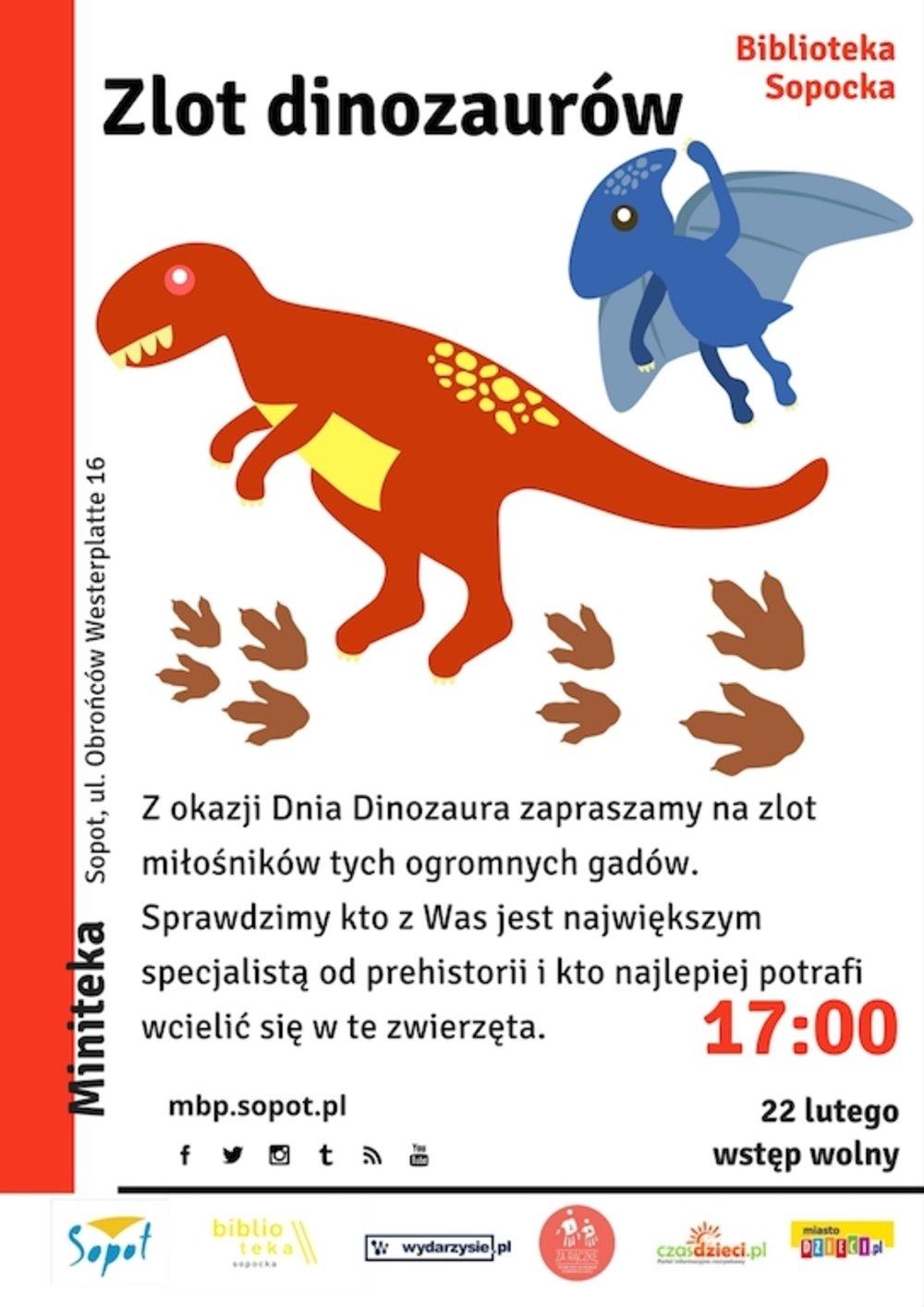 Zlot dinozaurów w Minitece