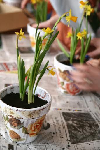 Warsztaty artystyczne – sadzenie pierwszych wiosennych kwiatów