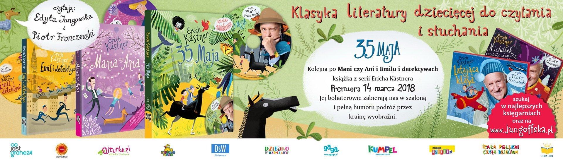 35 maja książka dla dzieci