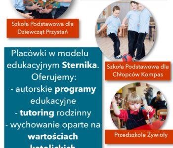 Drzwi Otwarte w Przedszkolu Żywioły, Szkole dla Dziewcząt Przystań i Szkole dla Chłopców Kompas
