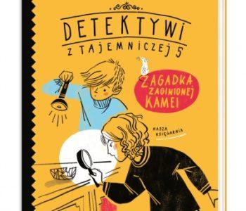 Zagadka zaginionej kamei - książka z serii detektywistycznej