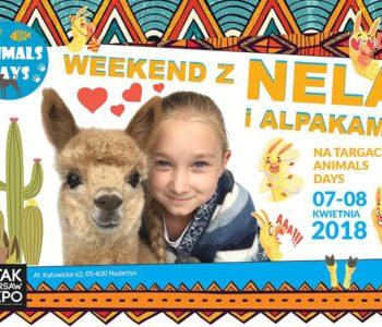 Wygraj podwójne zaproszenie na sobotę 7.04 na Animals Days i spotkaj się z Nelą Małą Reporterką
