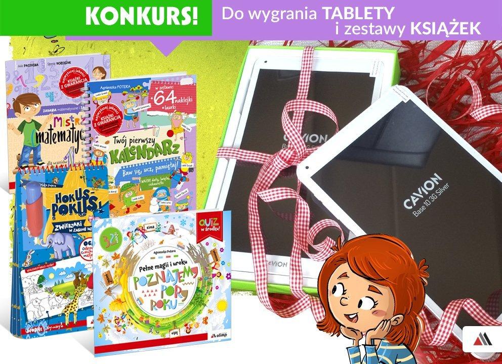 Wygraj tablet lub zestaw książek w konkursie Pierwszy wiosenny kwiat wydawnictwa Olimp