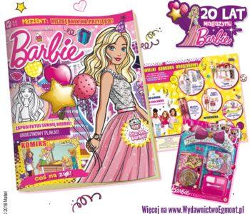 Magazyn Barbie – już 20 lat z czytelniczkami. Wielki jubileusz magazynu.