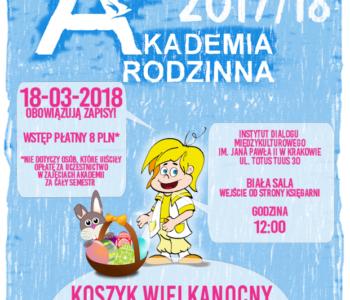 Akademia Rodzinna - Koszyk wielkanocny