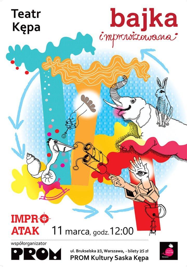 Mały Teatr Kępa: Impro Atak. Bajka improwizowana