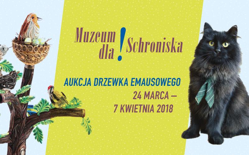 Muzeum dla schroniska - aukcja drzewka emausowego
