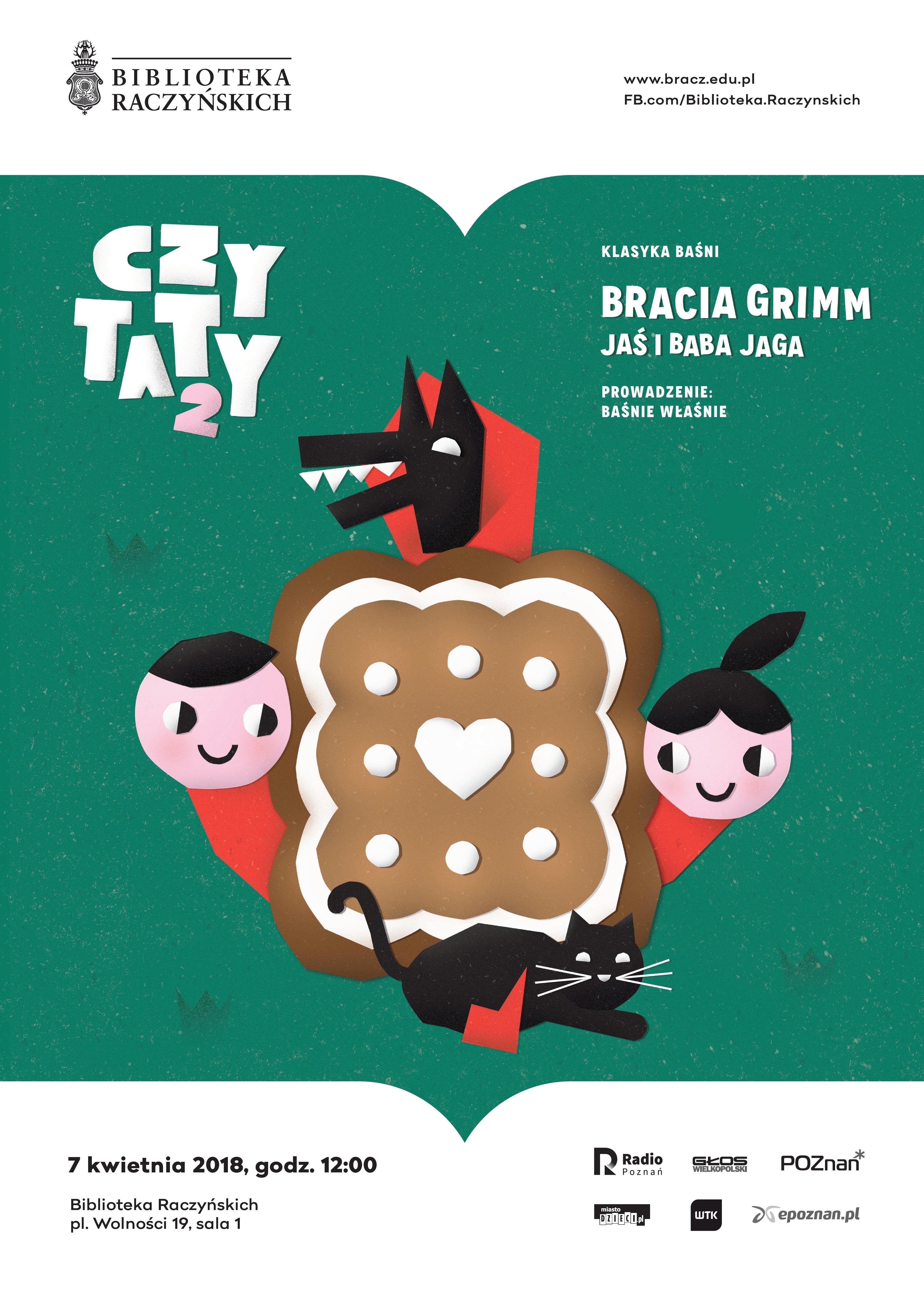 Czytaty2: Bracia Grimm, Jaś i Baba Jaga