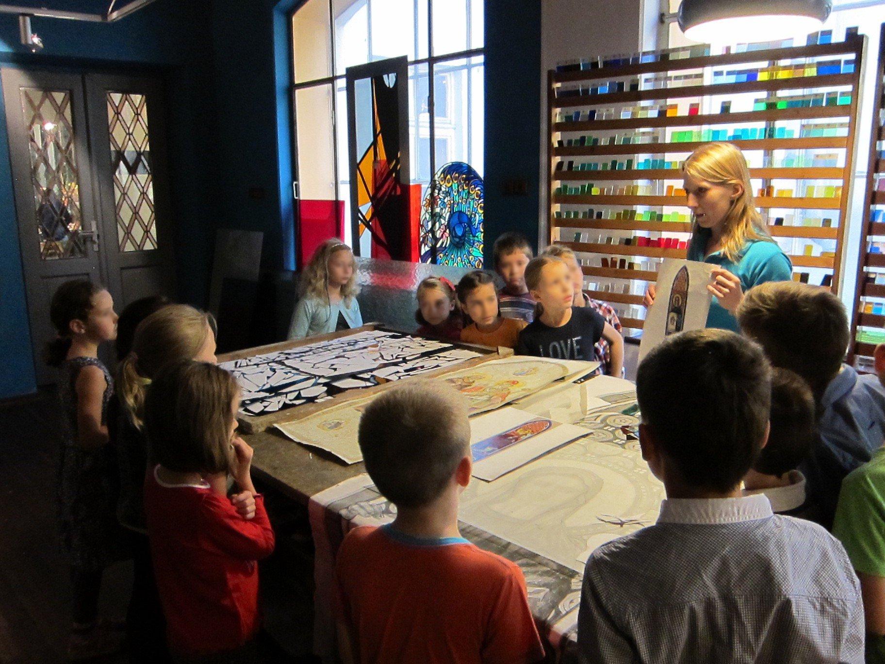 Wiosenne warsztaty dla dzieci w Muzeum Witrażu