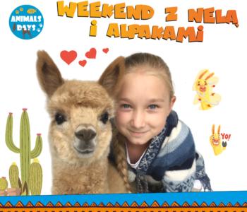 Wygraj podwójne zaproszenie  na Animals Days i spotkaj się z Nelą Małą Reporterką