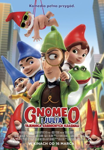 Gnomeo i Julia. Tajemnica zaginionych krasnali - premierowo w Multikinie