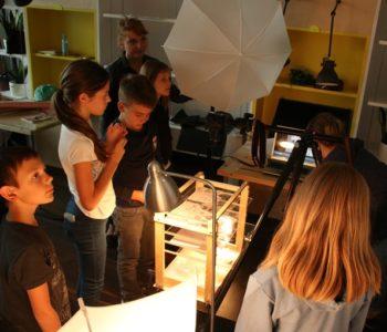 Warsztaty animacji poklatkowej dla dzieci Zoom na Wolność