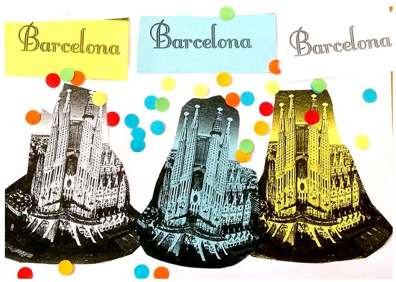 La postal - Pocztówka z Hiszpanii