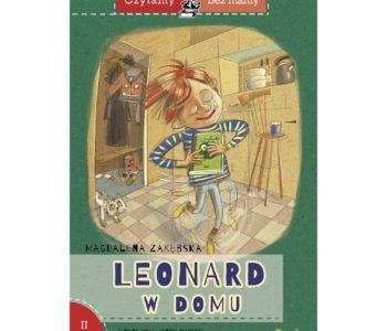 Leonard w domu. Czytamy bez mamy