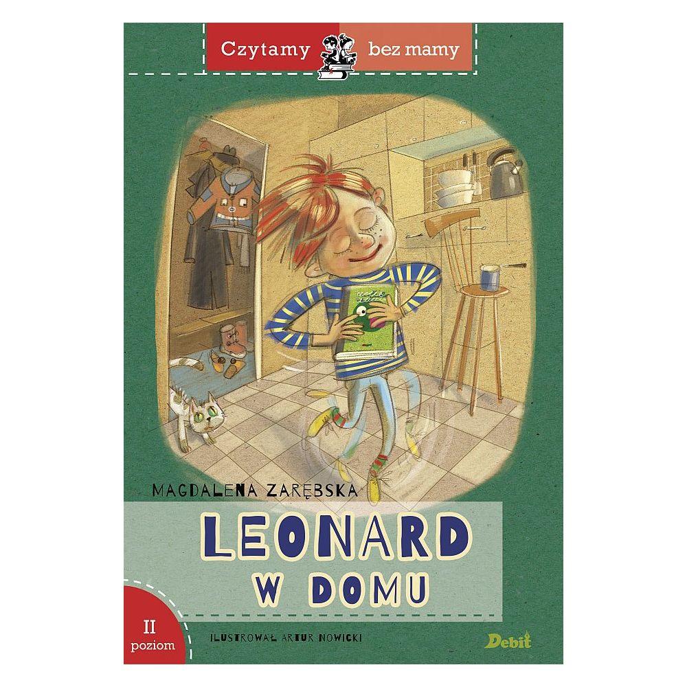 Leonard w domu. Czytamy bez mamy, poziom II