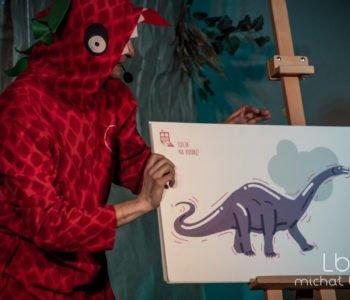 Lufcik na Korbkę – Teo, śląski dinozaur. Chorzów