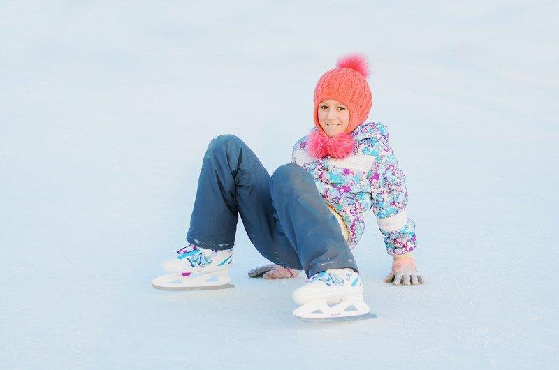 Lodowiska we Wrocłąwiu, z dzieckiem na łyżwy, atrakcje zima w mieście