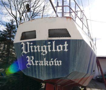 Remontują morski jacht dla młodzieży z Domów Dziecka