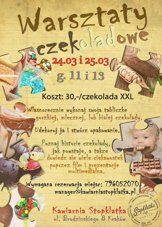 Świąteczne warsztaty czekoladowe dla dzieci
