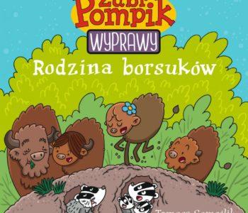 Żubr Pompik. Wyprawy – seria książeczek