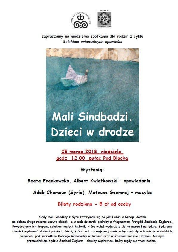 Szlakiem orientalnych opowieści: Mali Sindbadzi