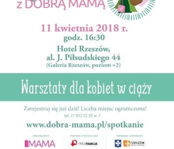 XVII edycja warsztatów dla kobiet w ciąży z cyklu Spotkania z Dobrą Mamą