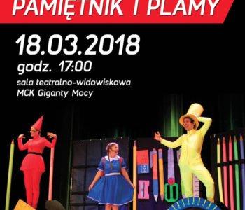 Plastusiowy pamiętnik i plamy - muzyczny spektakl w MCK PGE Gigantach Mocy. Bełchatów