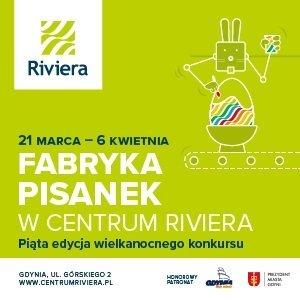 Fabryka Pisanek w Centrum Riviera - wielkanocny konkurs