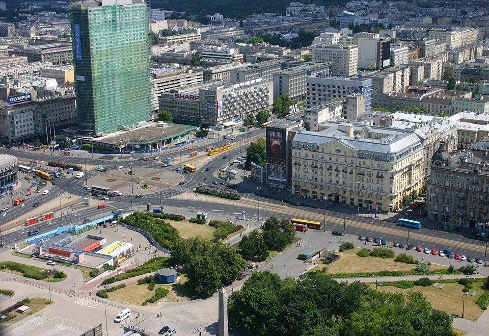 Leniwa niedziela z architekturą Warszawy