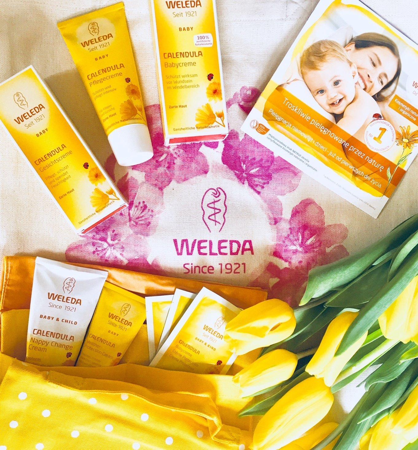 Odpowiedz na pytanie konkursowe i wygraj zestaw produktów firmy Weleda!