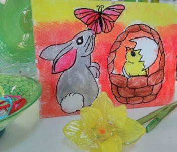 Wielkanocne warsztaty plastyczne dla dzieci w Centrum Szkła i Ceramiki Lipowa 3