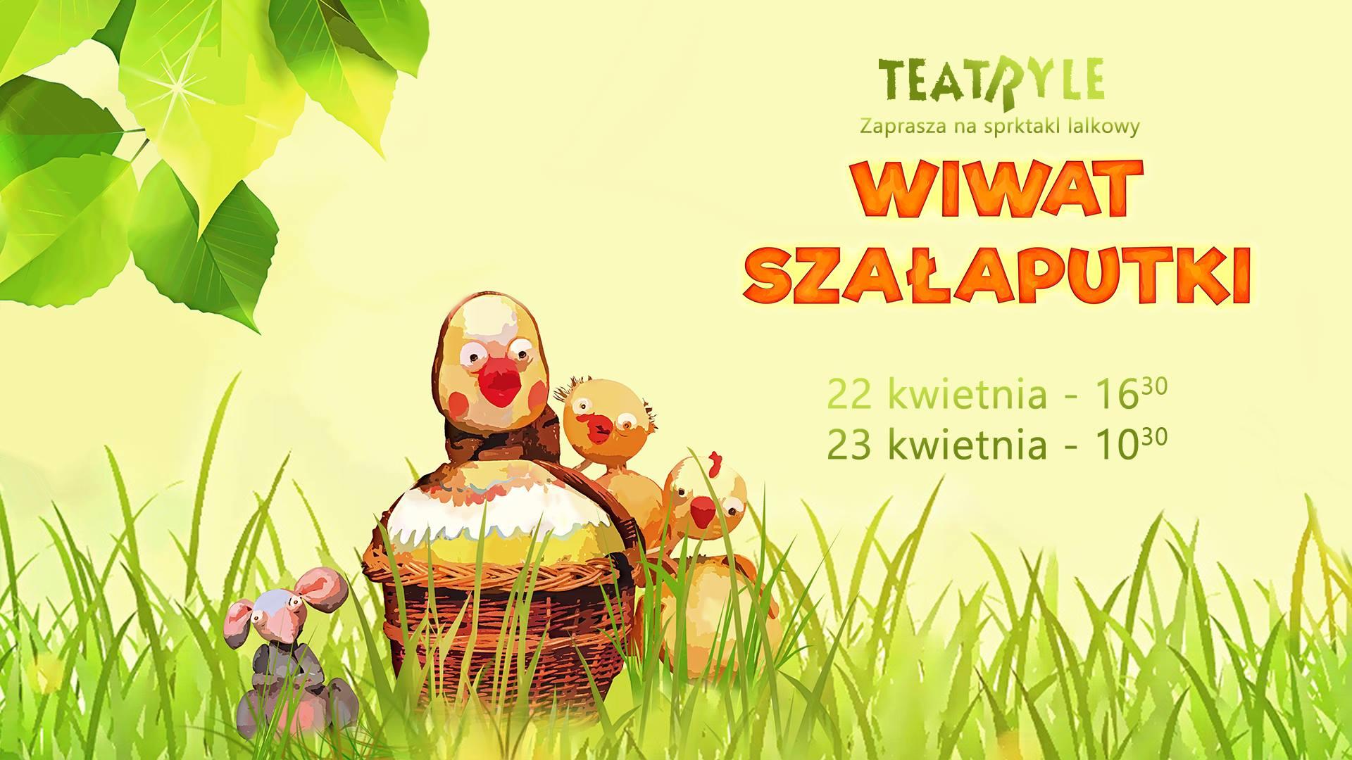 Spektakl lalkowy Wiwat Szałaputki