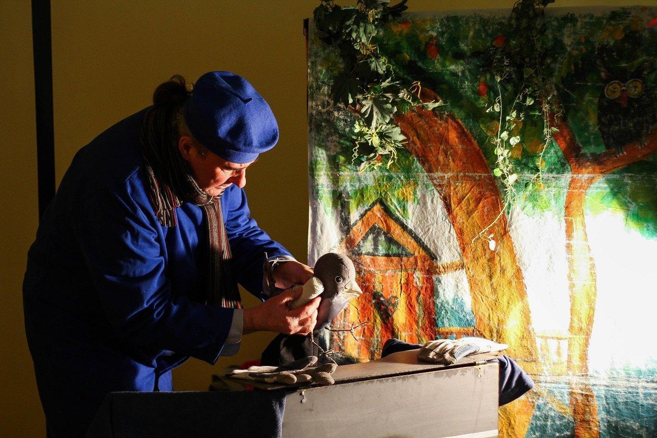 Teatrzyki Niedzielne: Przygody wróbelka Elemelka