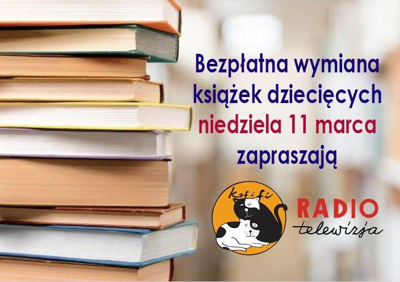 Wymiana książek dziecięcych w Kofifi