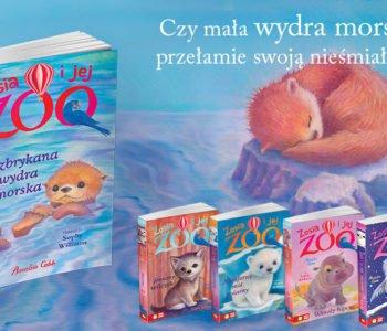 Czy mała wydra morska przełamie swoją nieśmiałość? – seria dla dzieci