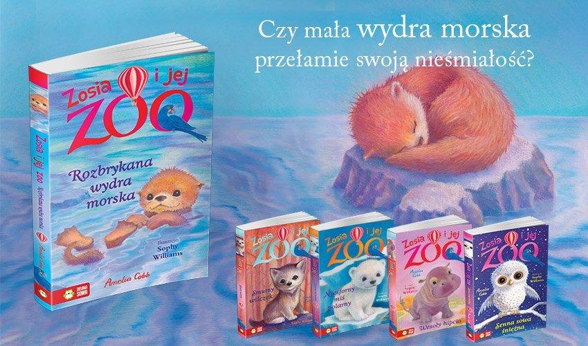 Czy mała wydra morska przełamie swoją nieśmiałość? - seria książek dla dzieci