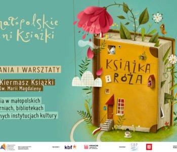 17. edycja Małopolskich Dni Książki Książka i Róża
