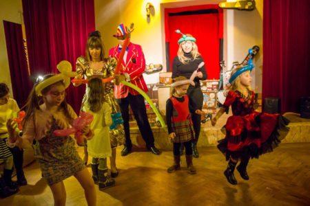 Artystyczne Urodziny dla dzieci w Teatrze Szczęście