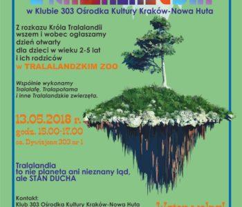 Wiosenne wydarzenia dla rodzin w Klubach Ośrodka Kultury Kraków-Nowa Huta