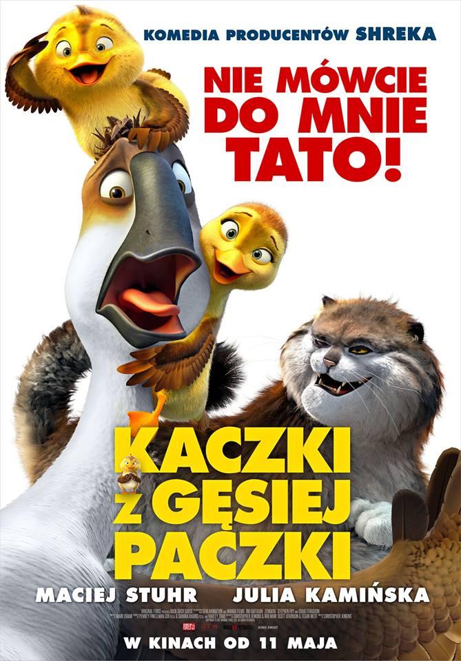 Kaczki z gęsiej paczki - nowa komedia producentów Shreka