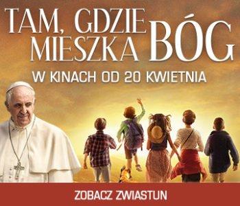 Tam, gdzie mieszka Bóg – pierwszy w historii film z udziałem Papieża Franciszka