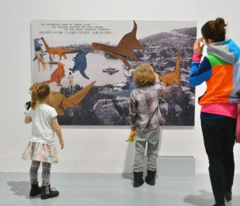 Warsztaty rodzinne na wystawie dla dzieci – Wszystko widzę jako sztukę