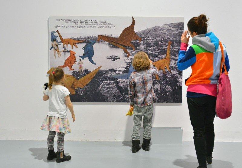Warsztaty rodzinne na wystawie dla dzieci - Wszystko widzę jako sztukę