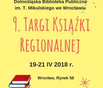 Targi Książki Regionalnej Silesiana 2018